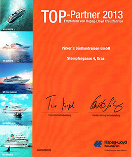 Hapag Lloyd Top Partner 2013