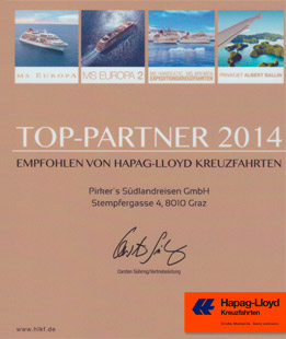 Hapag Lloyd Top Partner 2014